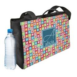 Retro Squares Ladies Workout Bag (Personalized)