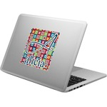 Retro Squares Laptop Decal (Personalized)