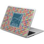 Retro Squares Laptop Skin - Custom Sized (Personalized)
