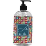 Retro Squares Plastic Soap / Lotion Dispenser (Personalized)