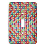 Retro Squares Light Switch Covers (Personalized)