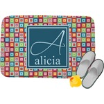 Retro Squares Memory Foam Bath Mat (Personalized)