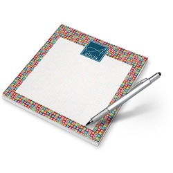 Retro Squares Notepad (Personalized)