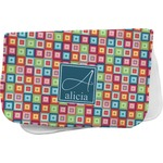 Retro Squares Burp Cloth (Personalized)