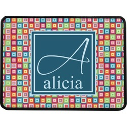 Retro Squares Rectangular Trailer Hitch Cover (Personalized)