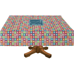 Retro Squares Tablecloth (Personalized)