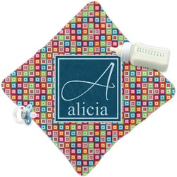 Retro Squares Security Blanket (Personalized)