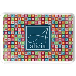 Retro Squares Serving Tray (Personalized)