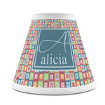 Retro Squares Chandelier Lamp Shade (Personalized)