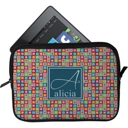 Retro Squares Tablet Case / Sleeve (Personalized)