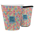 Retro Squares Waste Basket (Personalized)