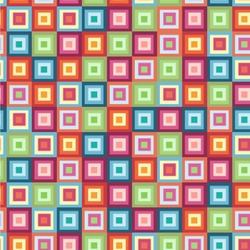 Retro Squares Wallpaper & Surface Covering