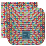 Retro Squares Facecloth / Wash Cloth (Personalized)