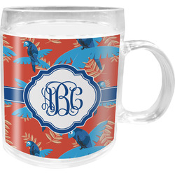 Blue Parrot Acrylic Kids Mug (Personalized)