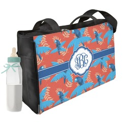 Blue Parrot Diaper Bag (Personalized)