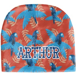 Blue Parrot Baby Hat (Beanie) (Personalized)