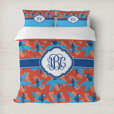 Blue Parrot Duvet Covers (Personalized)