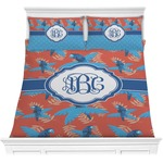 Blue Parrot Comforters (Personalized)