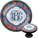 Blue Parrot Cabinet Knob (Black) (Personalized)