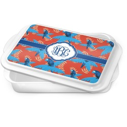 Blue Parrot Cake Pan (Personalized)