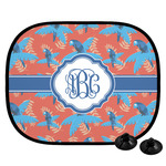 Blue Parrot Car Side Window Sun Shade (Personalized)