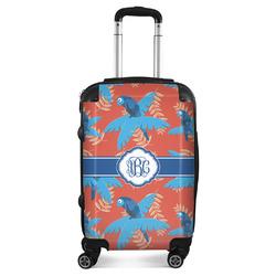 Blue Parrot Suitcase (Personalized)