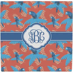 Blue Parrot Ceramic Tile Hot Pad (Personalized)