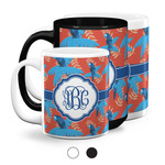 Blue Parrot Coffee Mugs (Personalized)