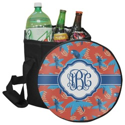 Blue Parrot Collapsible Cooler & Seat (Personalized)