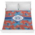 Blue Parrot Comforter (Personalized)