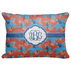 """Blue Parrot Decorative Baby Pillowcase - 16""""x12"""" (Personalized)"""