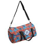Blue Parrot Duffel Bag (Personalized)