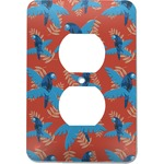 Blue Parrot Electric Outlet Plate (Personalized)