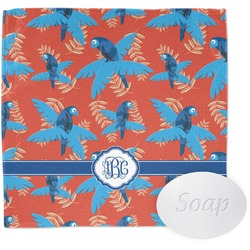Blue Parrot Wash Cloth (Personalized)