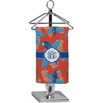 Blue Parrot Finger Tip Towel - Full Print (Personalized)