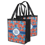 Blue Parrot Grocery Bag (Personalized)