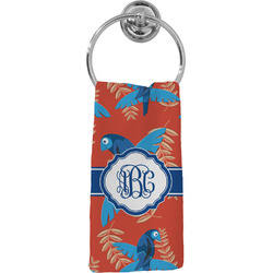 Blue Parrot Hand Towel - Full Print (Personalized)