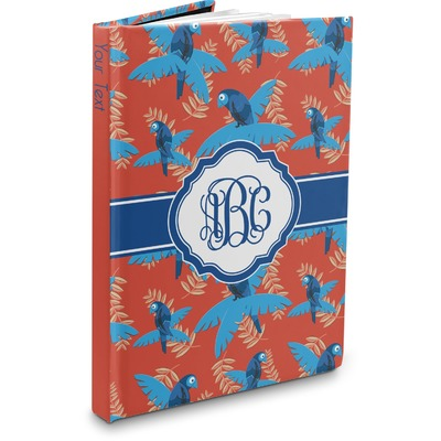 Blue Parrot Hardbound Journal (Personalized)