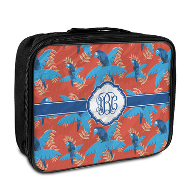 Blue Parrot Insulated Lunch Bag (Personalized)