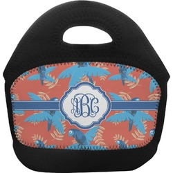 Blue Parrot Toddler Lunch Tote (Personalized)