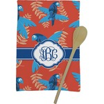 Blue Parrot Kitchen Towel - Full Print (Personalized)