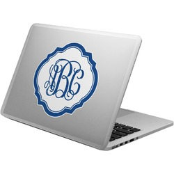 Blue Parrot Laptop Decal (Personalized)