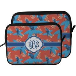 Blue Parrot Laptop Sleeve / Case (Personalized)