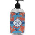 Blue Parrot Plastic Soap / Lotion Dispenser (Personalized)
