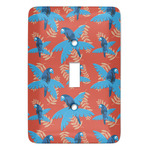 Blue Parrot Light Switch Cover (Single Toggle) (Personalized)