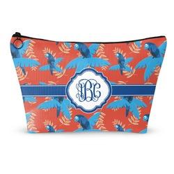 Blue Parrot Makeup Bags (Personalized)