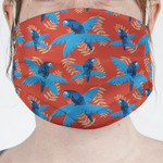 Blue Parrot Face Mask Cover (Personalized)