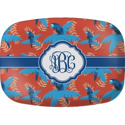 Blue Parrot Melamine Platter (Personalized)