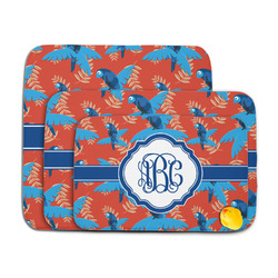 Blue Parrot Memory Foam Bath Mat (Personalized)
