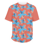 Blue Parrot Men's Crew T-Shirt (Personalized)